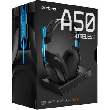 ASTRO Gaming A50 PS4 Bez Vadu Austiņas 7.1 ar Lādēšanas Paliktni (Jaunas)