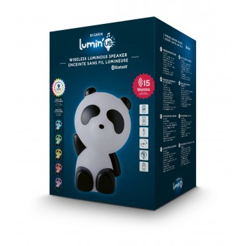 Bezvadu Luminous Skaļrunis un Lampa Panda (Jauna)