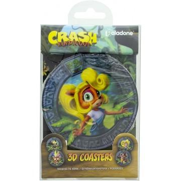 Crash Bandicoot 3D Krūžu Paliktņi (Jauns)