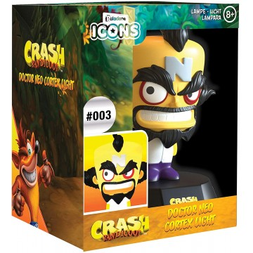 Crash Bandicoot Doctor Neo Cortex Icon Lampa (Jauna)