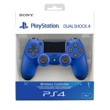 Sony Dualshock 4 V2 Bez Vadu Pults Zila (Jauna)