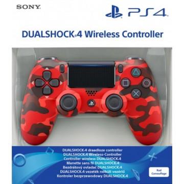 Oriģinālā Sony PlayStation 4 Dualshock 4 V2 Bez Vadu Pults/Controller Red Camouflage (Jauna)