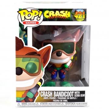 Funko POP Vinyl Crash Bandicoot Scuba Crash (Jauns)