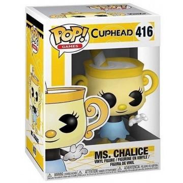 Funko POP Vinyl Cuphead Ms. Chalice (Jaunas)