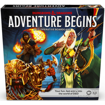 Galda Spēle Dungeons and Dragons Adventure Begins (Jauna)