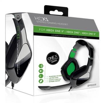 Gioteck HC-X1 Xbox One Stereo Austiņas Ar Vadu (Jaunas)