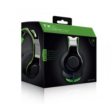 Gioteck TX30 Xbox One un PlayStation 4 Stereo Austiņas Zaļas (Jaunas)