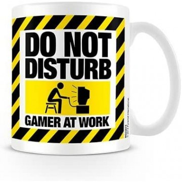 Gamer At Work Mug Krūze (Jauna)