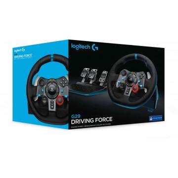 Logitech G29 Driving Force Racing Stūre ar 3 Pedāļiem PlayStation 4 (Jauna)