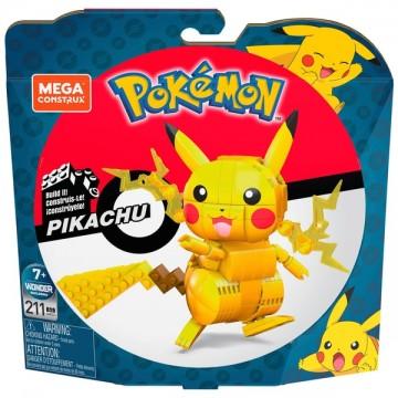 Mega Bloks Pokemon Pikachu Konstruktors (Jauns)