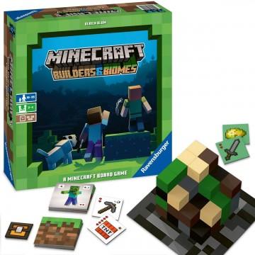 Galda Spēle Minecraft Builders un Biomes (Jauna)