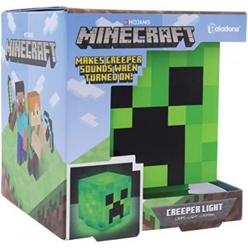 Minecraft Creeper BDP Lampa ar Skaņu (Jauna)