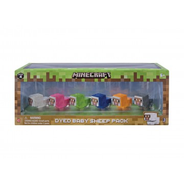 Minecraft Dyed Baby Sheep Multi Paka (Jauna)