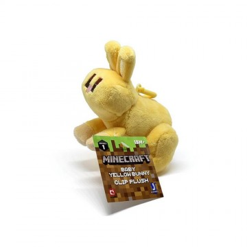 Minecraft Dzeltens Mini Zaķis Mīkstā Rotaļlieta (Jauna)