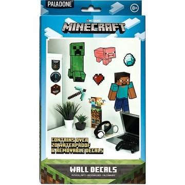 Minecraft Sienas Uzlīmes (Jaunas)