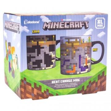 Minecraft XL Karstuma Maiņas Krūze (Jauna)