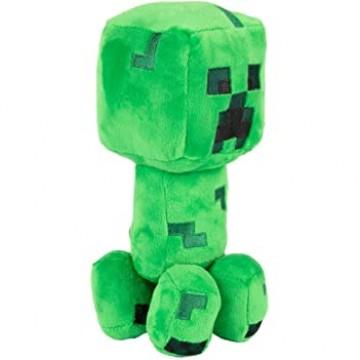 Mīkstā rotaļlieta Minecraft Crafter Charged Creeper 20cm (Jauna)