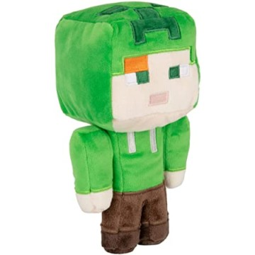 Mīkstā rotaļlieta Minecraft Happy Explorer Alex in Creeper Costume 20cm (Jauna)