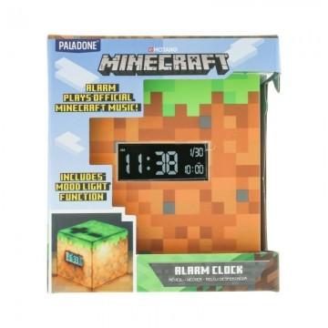 Minecraft Modinātājpulkstenis un LED Lampa BDP (Lietota)