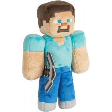 Minecraft Steve 32cm Mīkstā Rotaļlieta (Jauna)