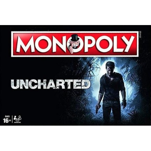 Monopols Uncharted Edition (Jauns)