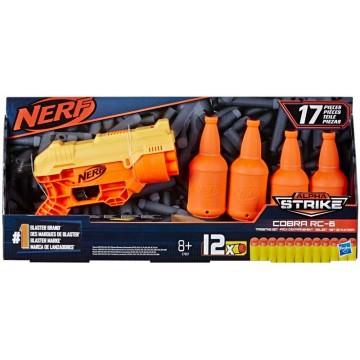 NERF Alpha Strike Cobra RC 6 TGT Set (Jauna)