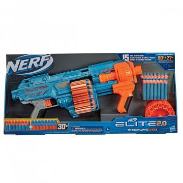NERF Elite 2.0 Shockwave RD 15 (Jauna)