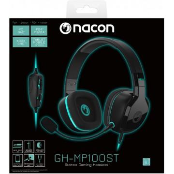 Nacon GH-MP100ST Stereo Gaming Austiņas ar Vadu (Jaunas)
