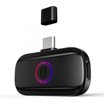 Nintendo Switch GameSir R3 Bluetooth Audio Adapter Transmitter for Bluetooth Headsets or Speakers (Jauns)