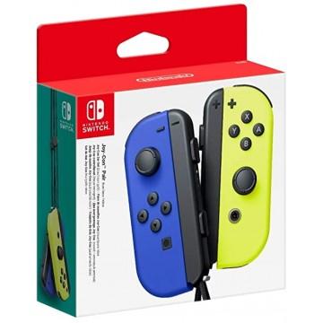 Nintendo Switch Joy Con Pair Neon Blue/Yellow (Jauns)