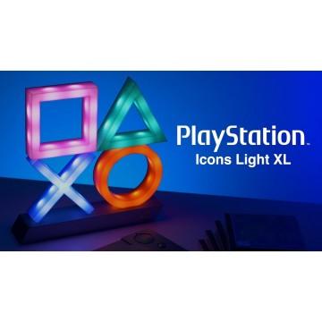 Oficiālā PlayStation Ikonu Lampa XL (Jauna)