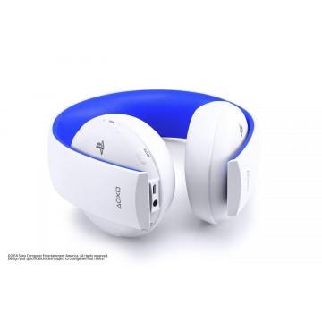 Oficiālās Sony PlayStation 4 Bezvadu Stereo Austiņas 2.0 Baltas (Lietotas)