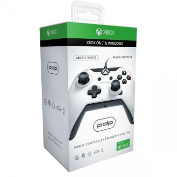 PDP Oficiāli Licencēts Xbox One un Windows 10 Pults ar Vadu Balta (Jauna)