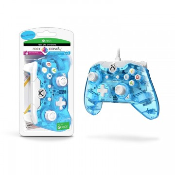 PDP Rock Candy Oficiāli Licencēts Xbox One un Windows 10 Pults ar Vadu BluMerang (Jauna)