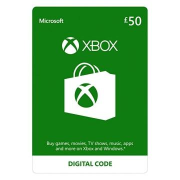 Microsoft 50 Mārciņu UK Karte