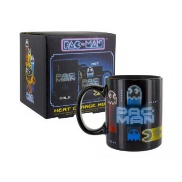 Pac Man Neon Karstuma Maiņas Krūze (Jauna)
