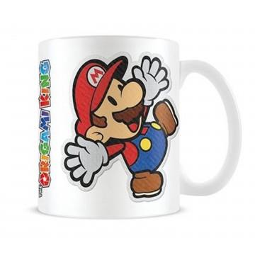 Paper Mario Mario Sticker Krūze (Jauna)