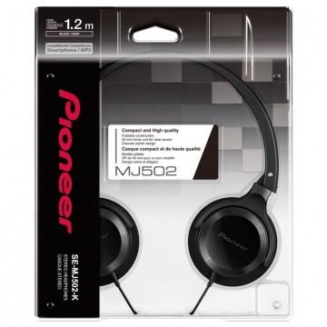 Pioneer MJ502 Black Over-Ear Austiņas (Jaunas)