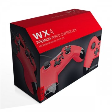 PlayStation 3 Gioteck WX4 Bez Vadu Pults Sarkana (Jauna)