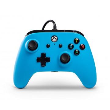 Power A Oficiāli Licencēts Xbox One un Windows 10 Pults ar Vadu Zila (Jauna)