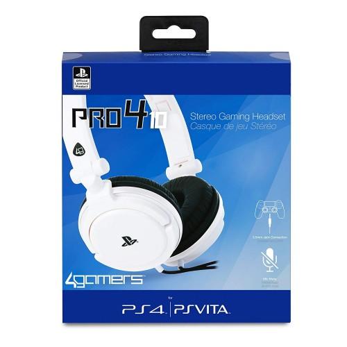 Pro4-10 Sony Oficiāli Licencētas PlayStation 4 Austiņas ar Vadu Dažādas Krāsas (Jaunas)