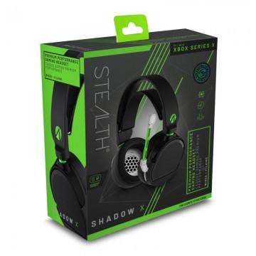 Xbox Series/Xbox One Stealth Shadow V Stereo Austiņas ar Vadu Melnas (Jaunas)