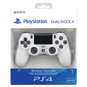 Sony Dualshock 4 V2 Bez Vadu Pults Glacier White (Jauna)