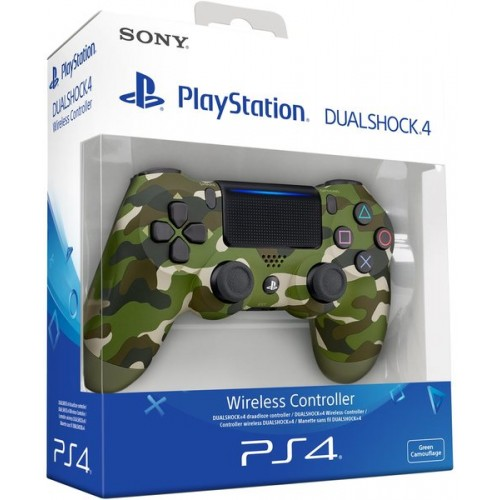 Sony Dualshock 4 V2 Bez Vadu Pults Green Camouflage (Jauna)