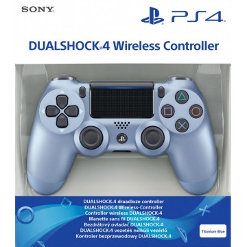 Sony Dualshock 4 V2 Bez Vadu Pults Titanium Blue (Jauna)