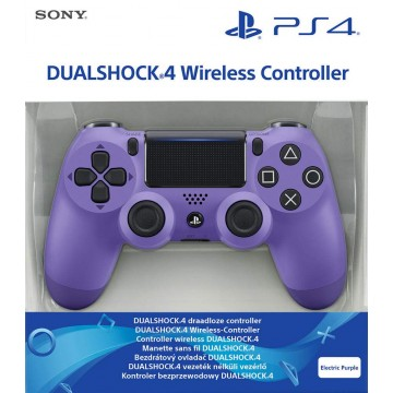 Sony PlayStation 4 Dualshock 4 V2 Bez Vadu Pults Electric Purple (Jauna)