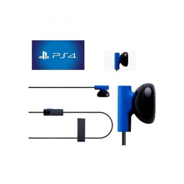 Oficiālās Sony PlayStation 4 Mono Čata Austiņas Ar Mikrafonu (Jaunas)