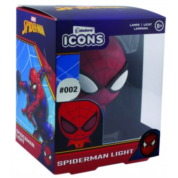 Spider Man Icon Lampa (Jauna)