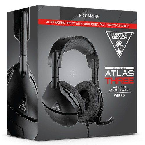 Turtle Beach Ear Force Atlas Three Austiņas ar Vadu PlayStation 4/Xbox One (Jaunas)