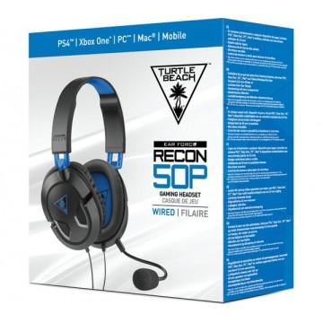 Turtle Beach PlayStation 4 Ear Force Recon 50P Austiņas ar Vadu (Jaunas)